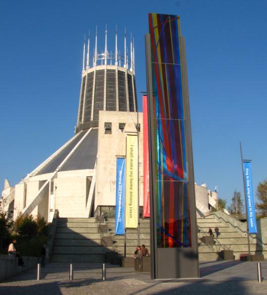 La Catedral Metropolitana de Liverpool tiene un aire muy moderno