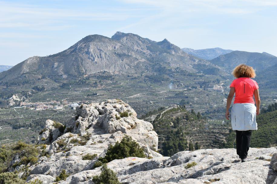 Los paisajes de la comarca de L'Alcoià nos dejaron enamorados