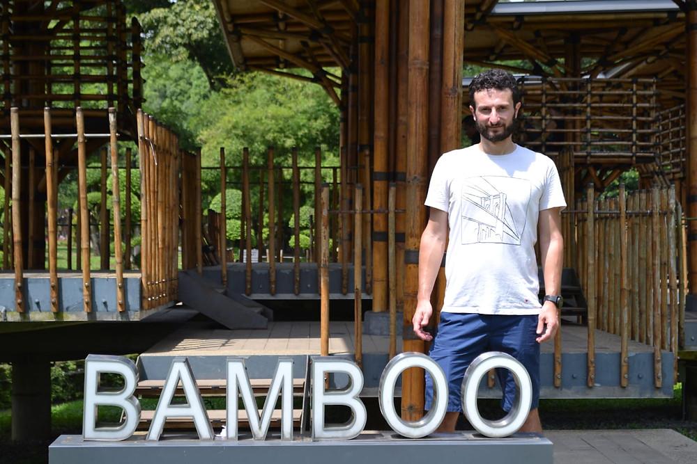 La Bamboo Playhouse, en pleno Jardín Botánico