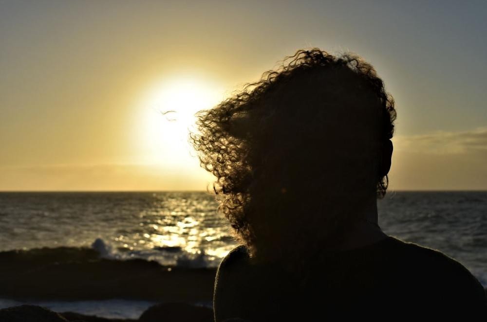 Así de bonito se vio caer el sol en el horizonte