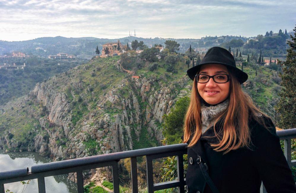 Vistas al río Tajo desde el Mirador del Paseo del Tránsito