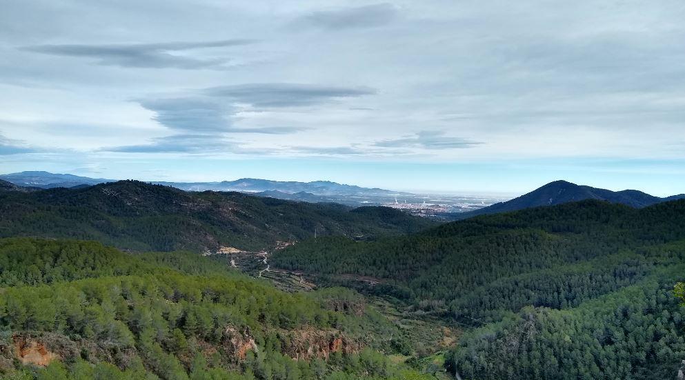 La Sierra de Espadán es un espacio precioso