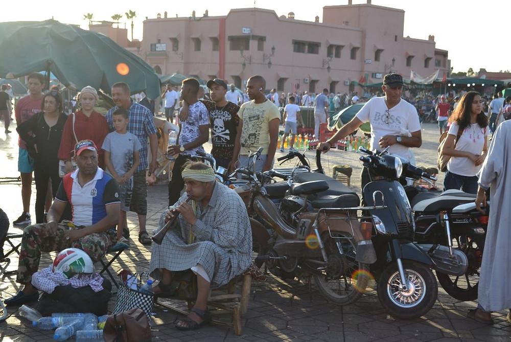 Todos los caminos de Marrakech conducen a Jamaa El Fna