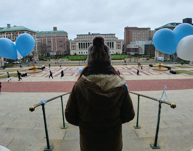 En el campus de la Universidad de Columbia debe dar gusto estudiar