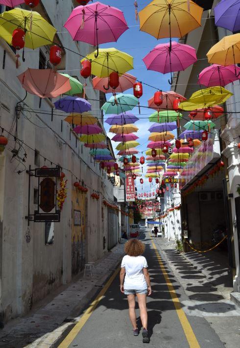 Market Lane es una de las calles más bonitas de Ipoh. Allí oculto está el Tiga Bar.
