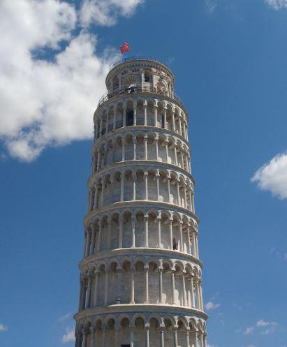 Uno de los lugares más famosos de Italia, la Torre de Pisa