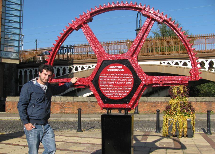 Manchester fue clave en la Revolución Industrial
