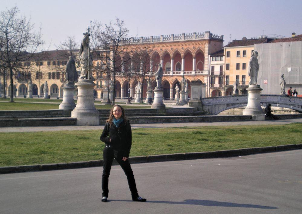 El Prato della Valle es una impresionante plaza en el corazón de Padova