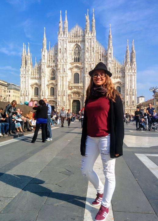 Nada más llegar a Milán fuimos a ver el Duomo