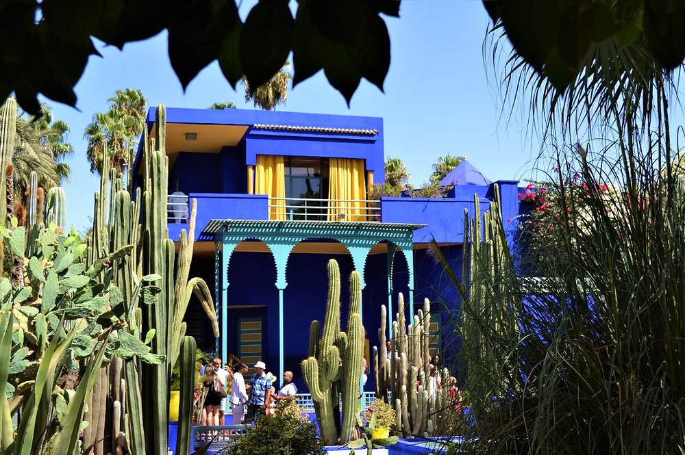 El Jardín Majorelle fue comprado y restaurado por Yves Saint Laurent y su pareja