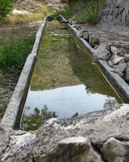 Qué bien nos vino el agua fresca de la Font d'en Gili