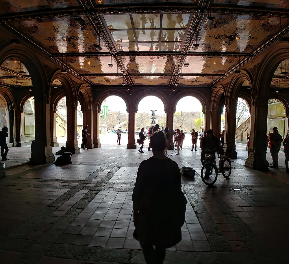 La música nos persiguió también en Central Park