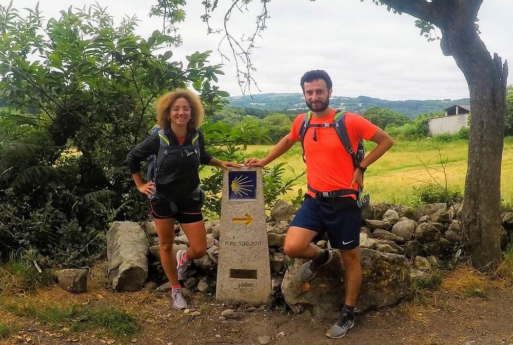 100 kilómetros para llegar a Santiago