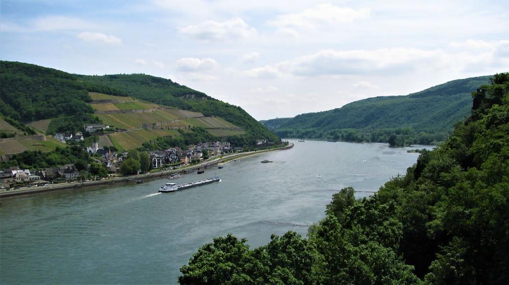 El Rin es un elemento clave en un viaje por esta zona de Alemania