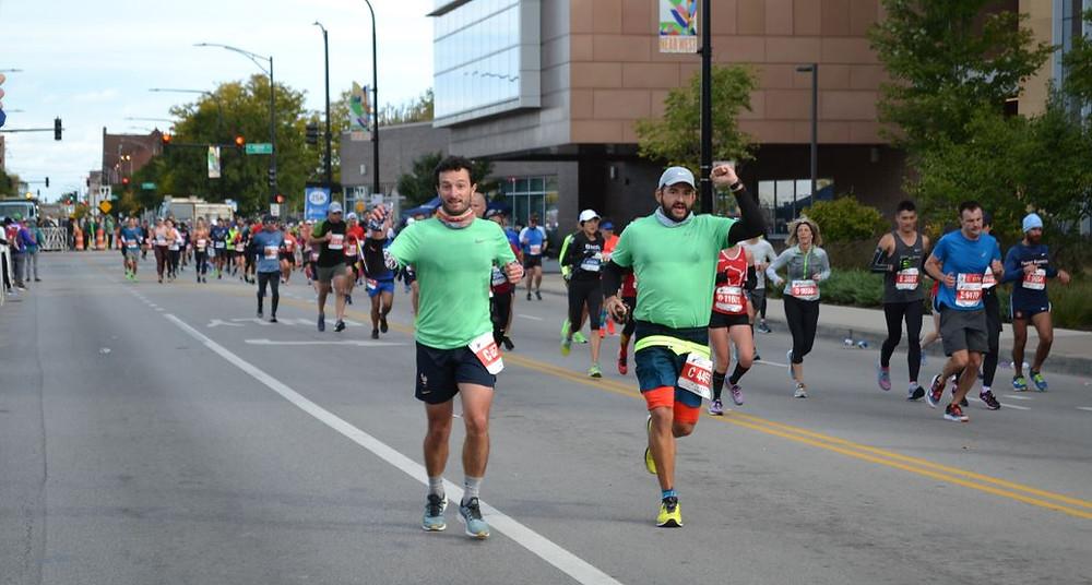 Correr el Maratón de Chicago fue una experiencia inolvidable