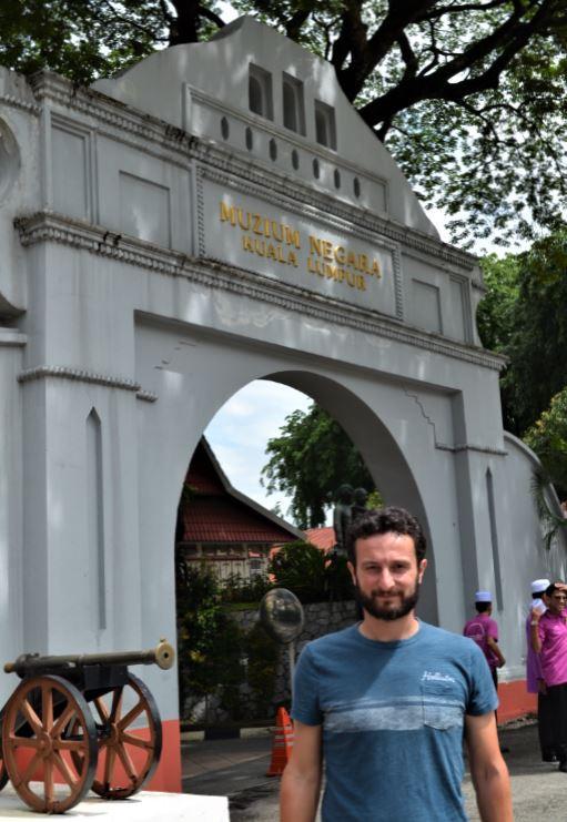 Aprendimos mucho de la historia de Malasia en el Museo Nacional