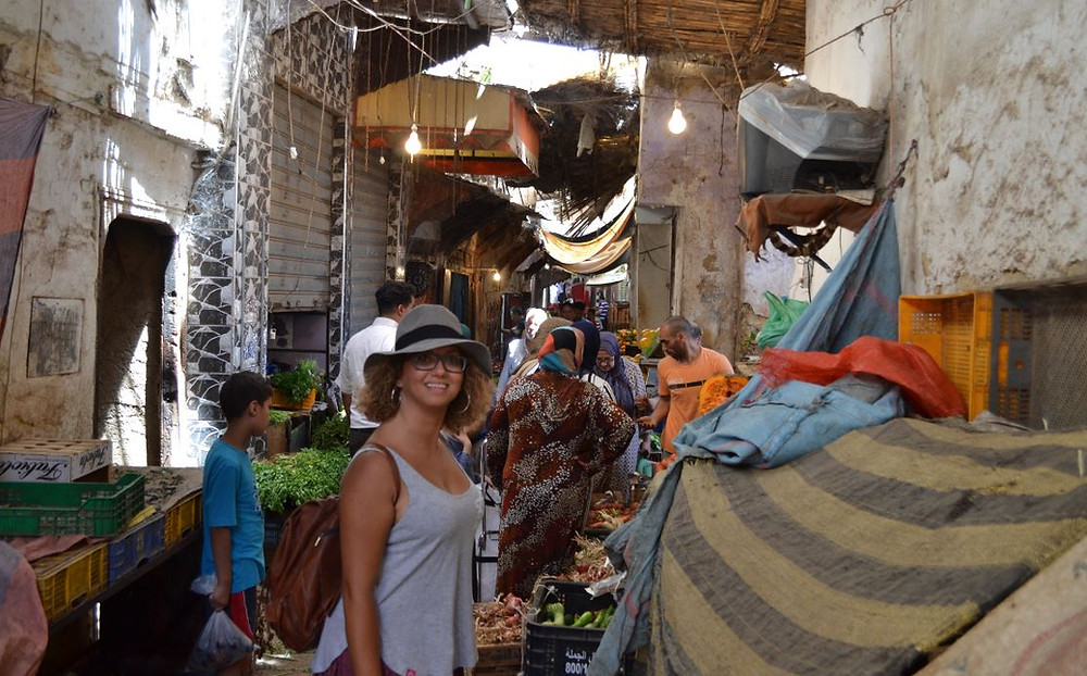La Medina de Fez es un verdadero laberinto