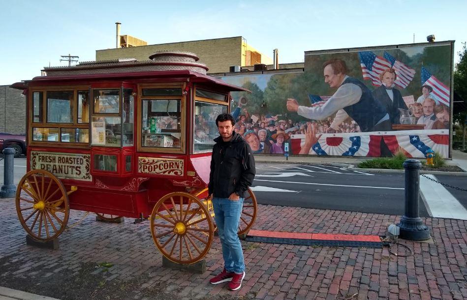 Incluso el pequeño pueblo de Ottawa, en illinois, tiene su espacio en la historia reciente de los Estados Unidos