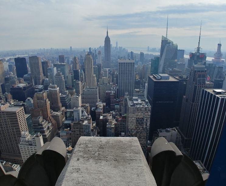 Otra vista de Nueva York desde las alturas, ahora en el Top of the Rock