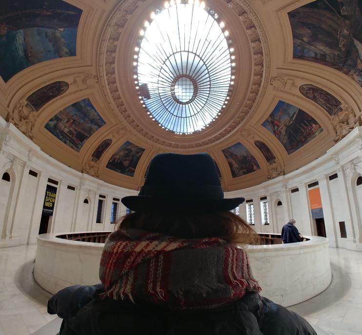 Nuestra visita guiada por el sur de Manhattan empezó en el Museo de los Indios Americanos