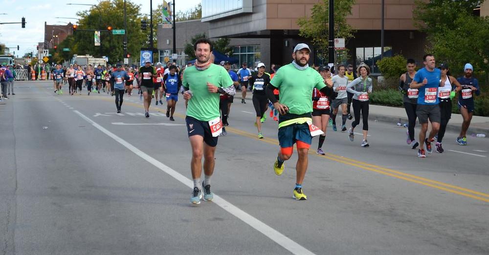 Correr el Chicago Marathon fue una experiencia indescriptible