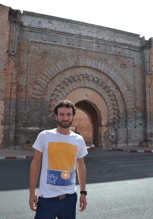 La de Bab Agnaou es una de las 19 puertas de la Medina
