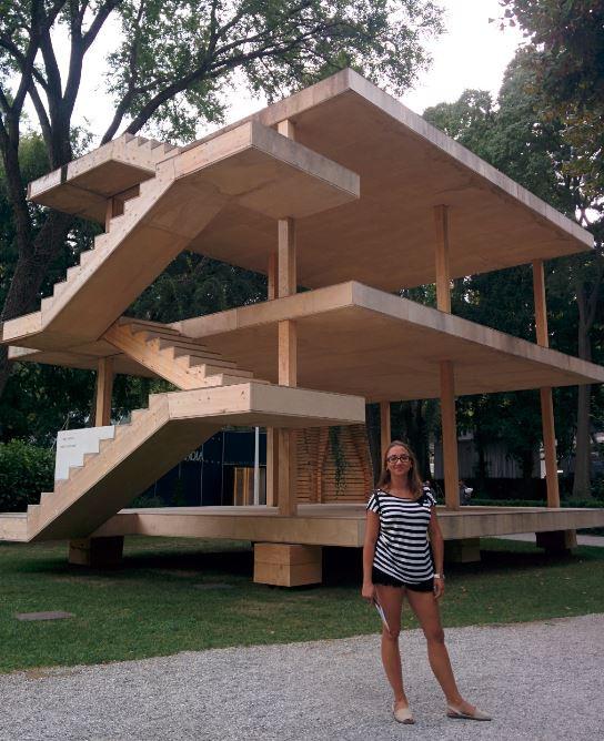 En Venecia pudimos ver la casa Dom-Ino de Le Corbusier