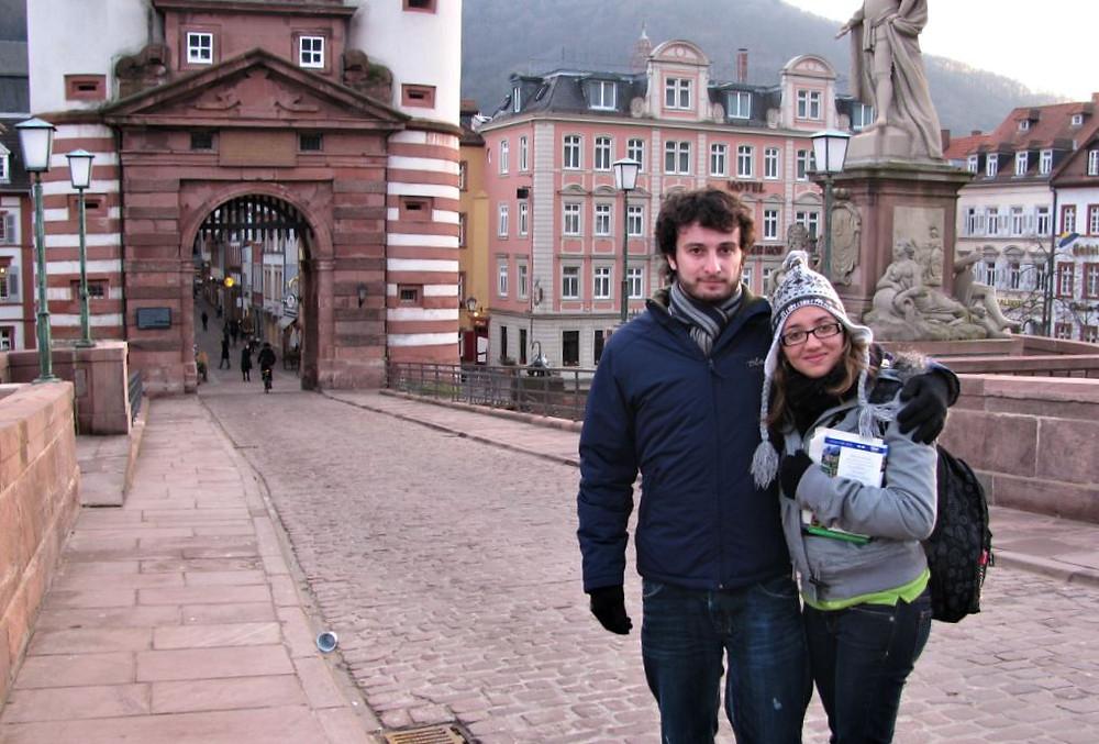 Recuerda abrigarte bien si piensas visitar Heidelberg en pleno invierno