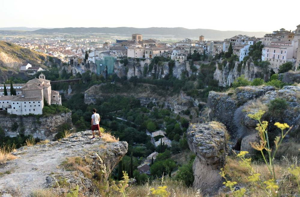 Gracias a las diferencias de altura de Cuenca, se puede disfrutar de panorámicas como ésta