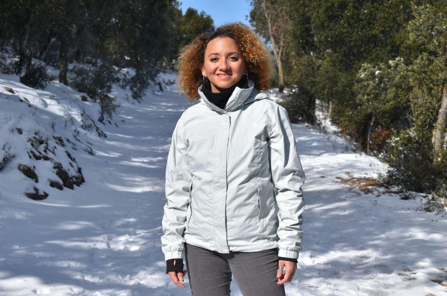 Recorrer el Parque Natural de la Font Roja cubierto de nieve fue una maravilla