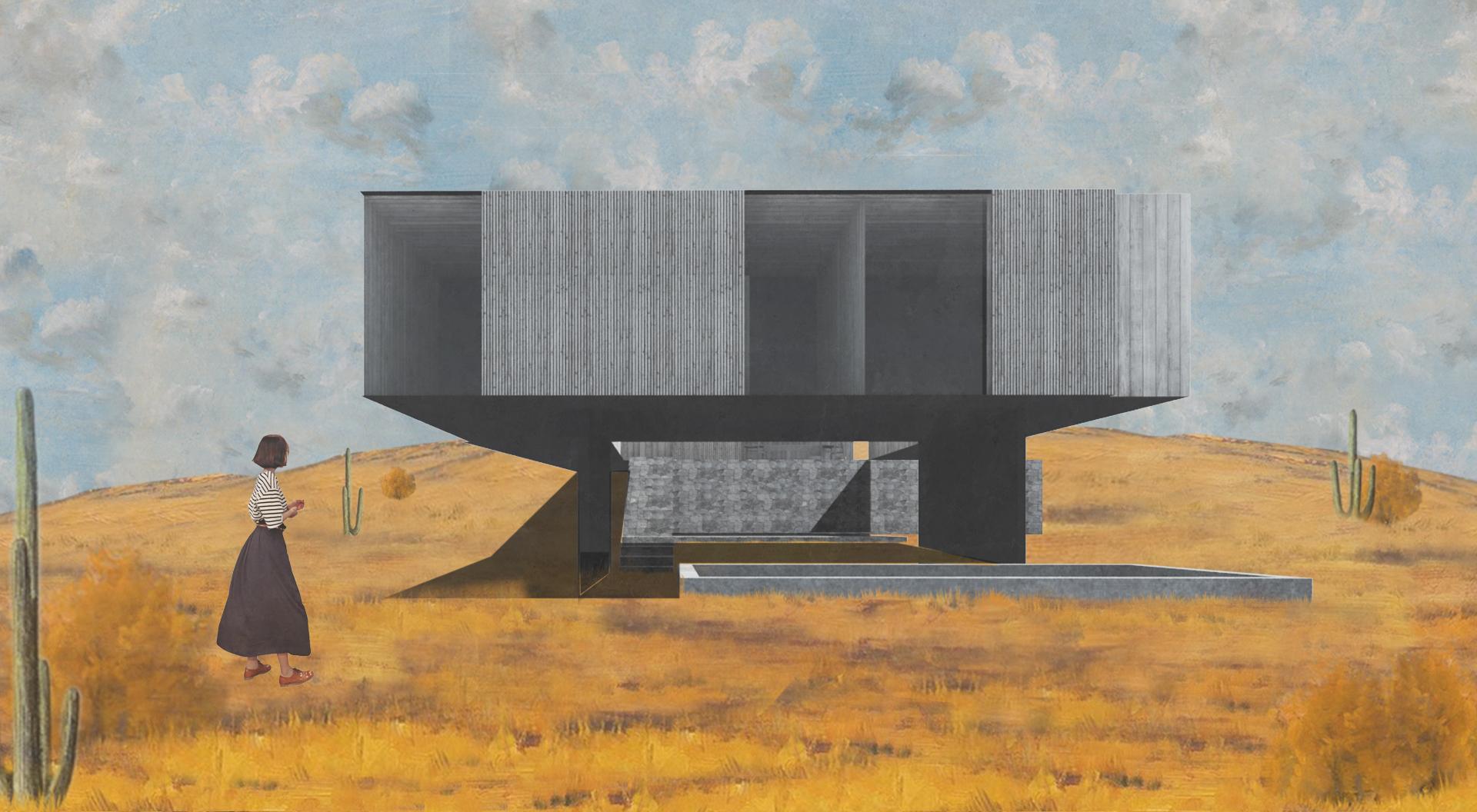 Casa del patio estrellado