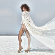 The Hera Bodysuit & Cape - Saro Jacques