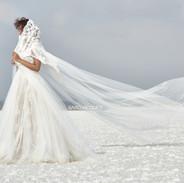 The Shogher Dress & Cape - Saro Jacques
