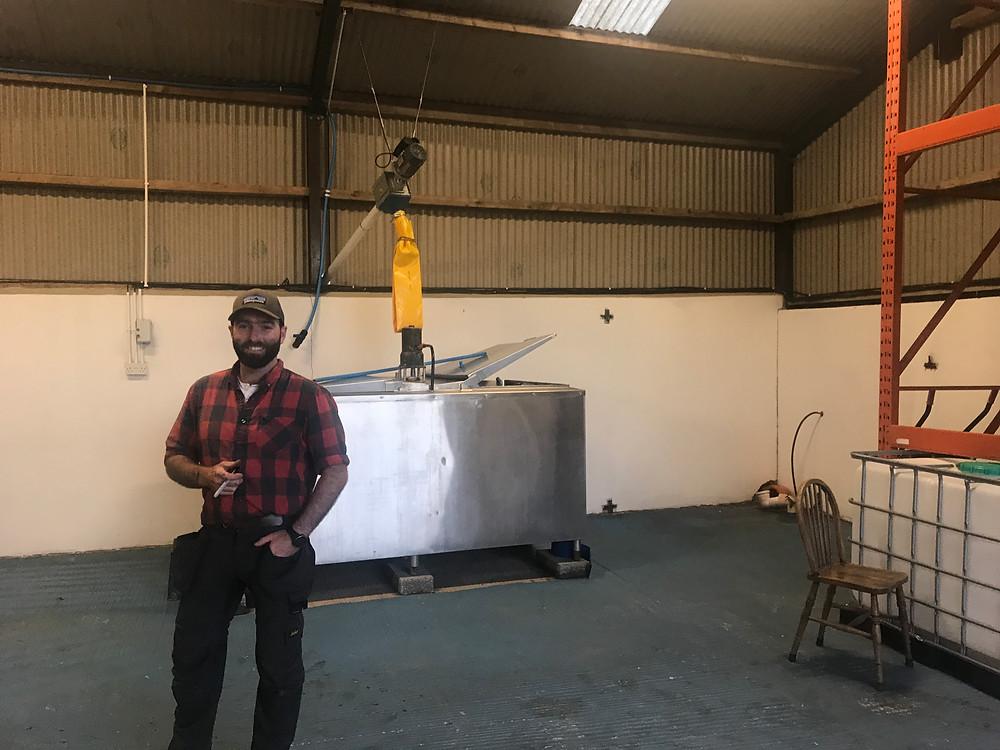 Damien Rafferty - Floor malting start up