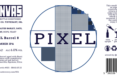 PIXEL Barrel 8 - 330ml