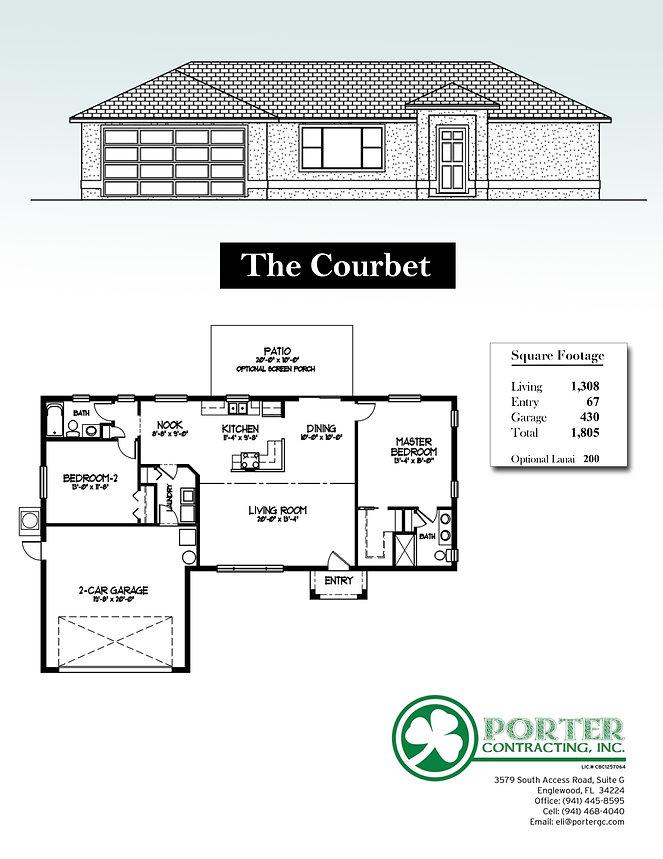 Courbet Model Home specs
