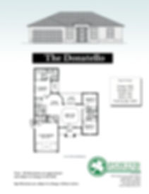Donatello Model Home specs