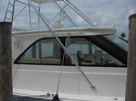 Before Boat/Marine Window Tinting