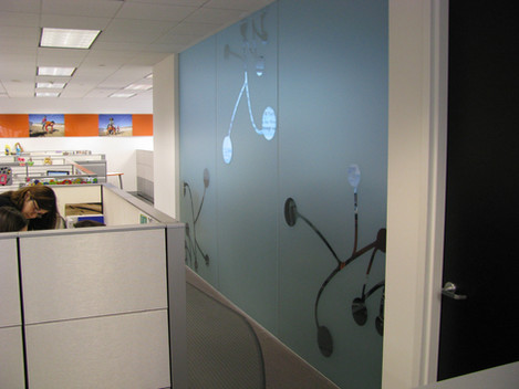 Specialty Window Tinting with Pattern