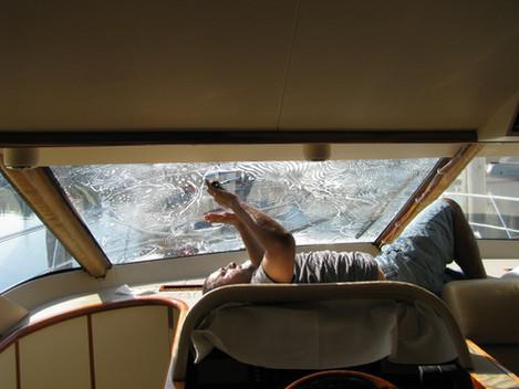 Boat/Marine Window Tinting Installation
