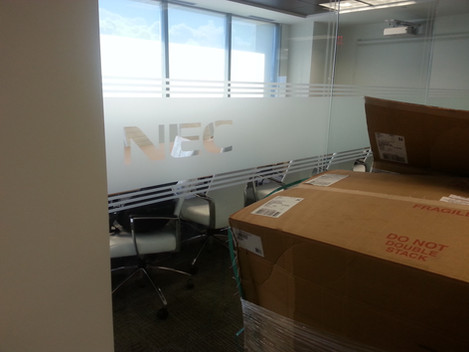 Commerical Building Window Tinting