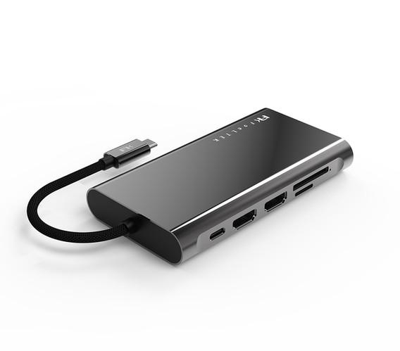Mega-Dock 11 in 1 USB-C Hub