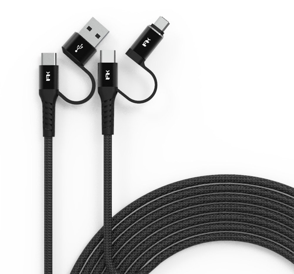 Android Fast Charging Multi-Plug Cable 200cm