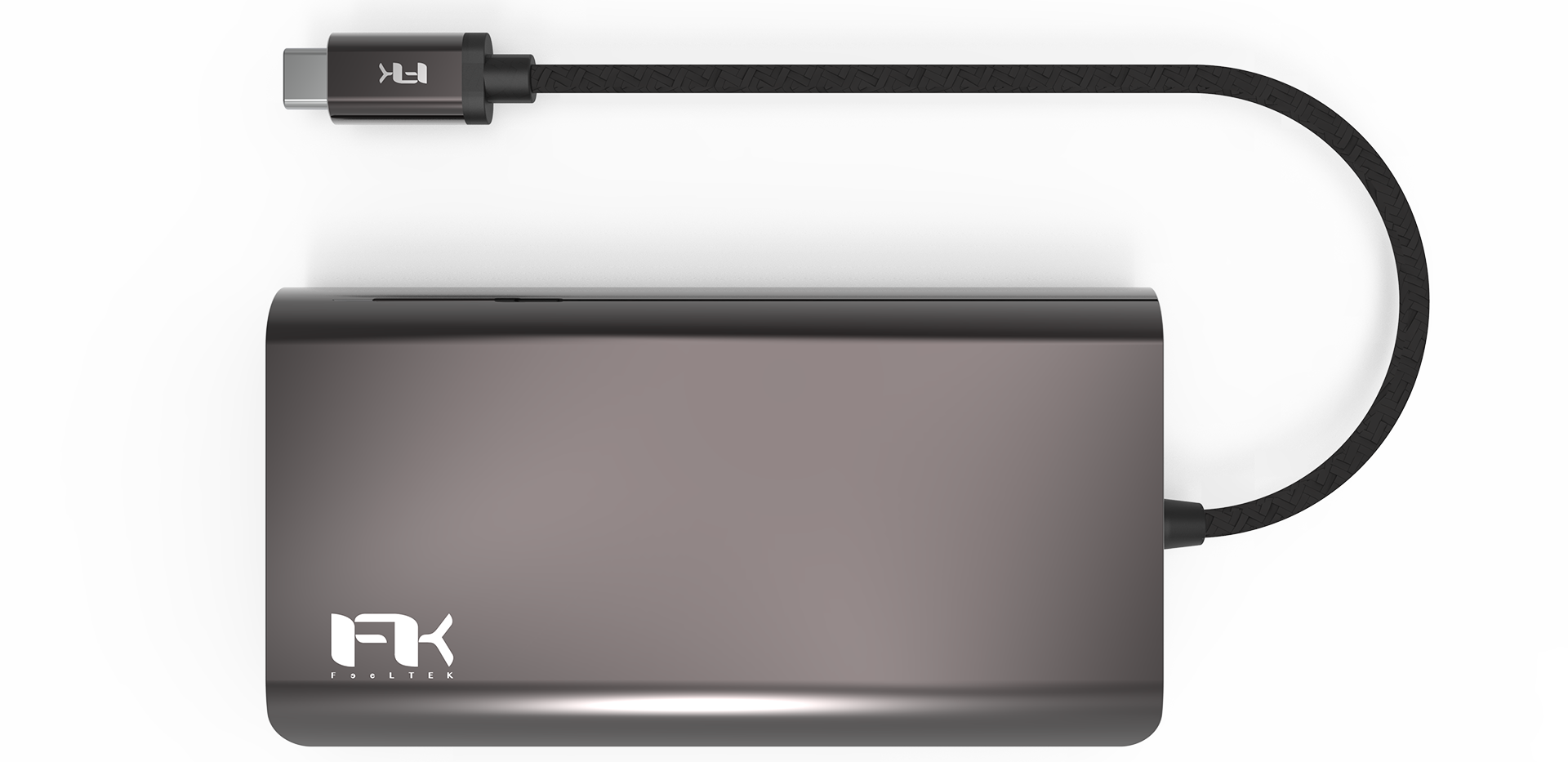 Protable 8 in 1 USB-C Hub