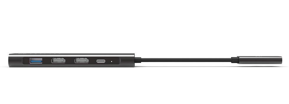 Portable 9-in-2 USB-C Hub