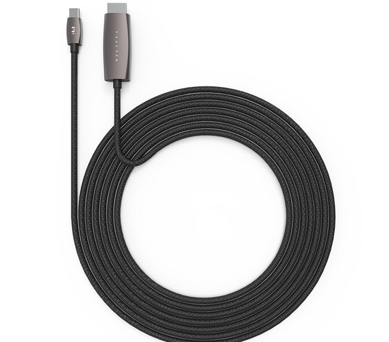 Flexible USB-C to HDMI Cable 180cm