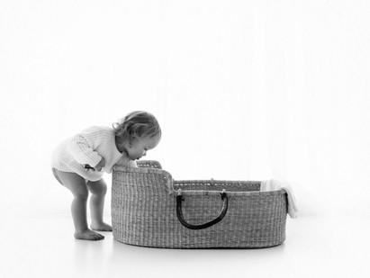 Natural Baby Photos In White Studio - Photography Photoshoot Aldershot Hampshire - baby feet