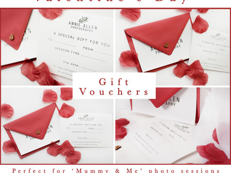 Valentine's Day Gift Vouchers - The Perfect Gift