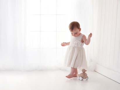 natural simple baby photo shoot near me