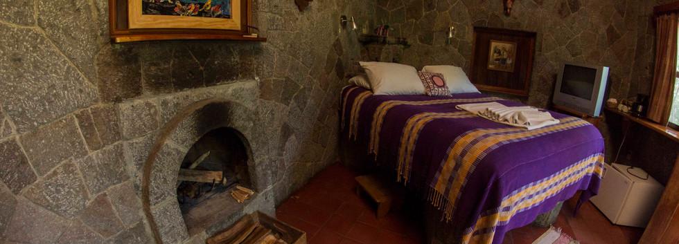 Casa Maya queen bed